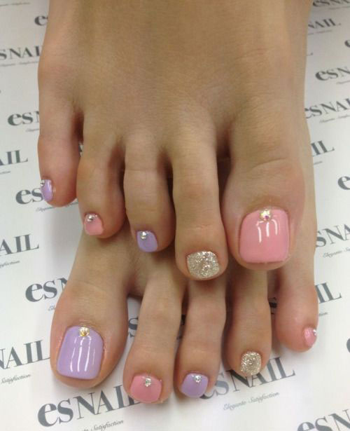 10 Spring Toe Nail Art Designs Ideas Trends Stickers 2015 7 10+ Spring Toe Nail Art Designs, Ideas, Trends & Stickers 2015