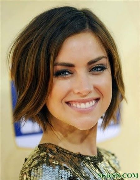 Short Color-Rich Hairstyle