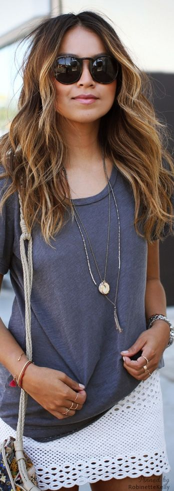 Summer Ombre Style