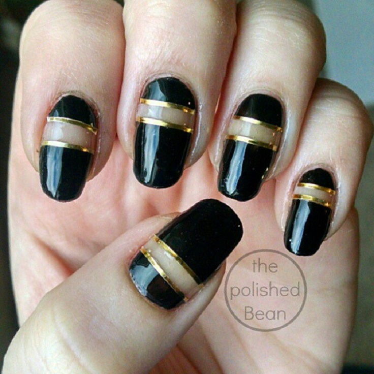 black-and-gold-nails