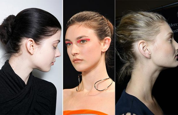 2014-Fall-Winter-2015-french-twist-hairstyles