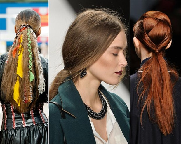 2014-Fall-Winter-2015-ponytail-hairstyles