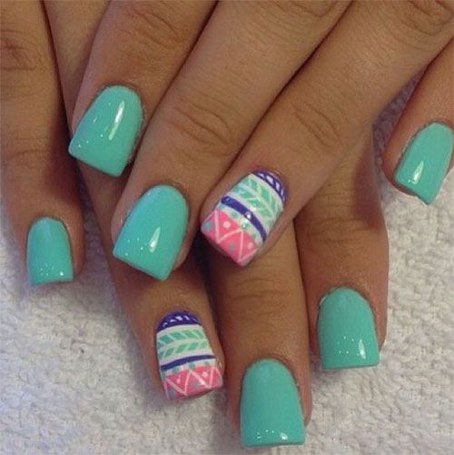 Cute Easter Gel Nail Art Designs Ideas Trends Stickers 2015 1 Cute Easter Gel Nail Art Designs, Ideas, Trends & Stickers 2015