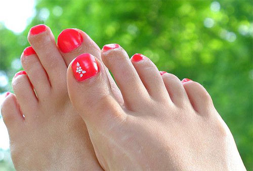 10 Spring Toe Nail Art Designs Ideas Trends Stickers 2015 3 10+ Spring Toe Nail Art Designs, Ideas, Trends & Stickers 2015