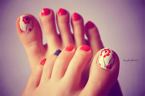 10 Spring Toe Nail Art Designs Ideas Trends Stickers 2015 4 10+ Spring Toe Nail Art Designs, Ideas, Trends & Stickers 2015