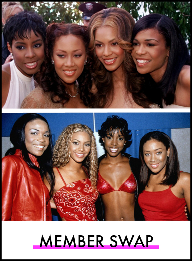 Destiny's Child's Hair