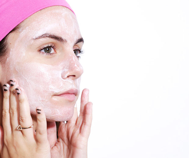Double masking is the art of applying different masks all at once.