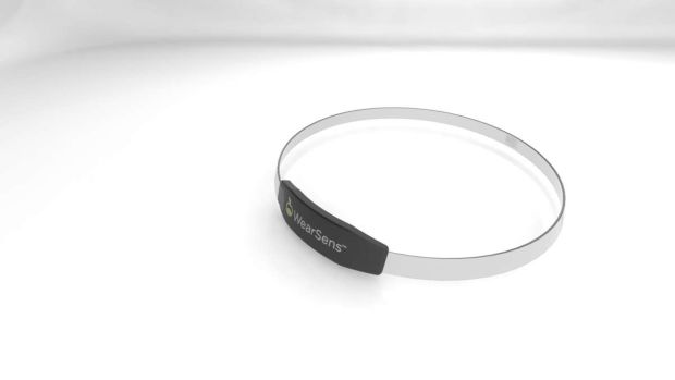 The new WearSens necklace tracks your eating habits through throat vibrations.