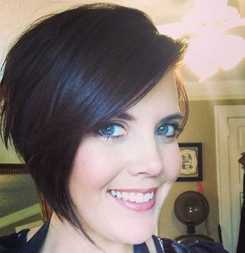 Easy Asymmetrical Short Hairstyle for Women
