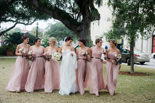 Blush and Ivory Wedding