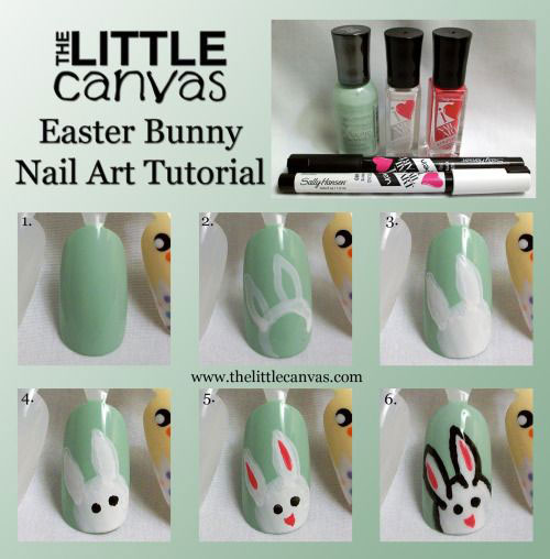 10 Step By Step Easter Nail Art Tutorials For Beginners Learners 2015 1 10 Step By Step Easter Nail Art Tutorials For Beginners & Learners 2015