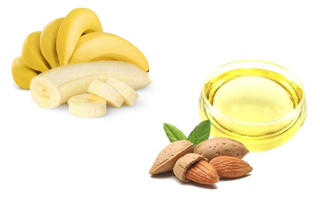 Banana And Almond Oil Mask