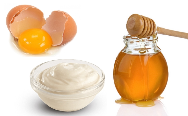 Egg, Mayonnaise And Honey Mask