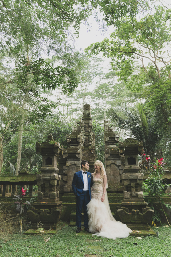exotic garden party wedding in Bali - photo by Jonas Peterson http://ruffledblog.com/exotic-garden-party-wedding-in-bali