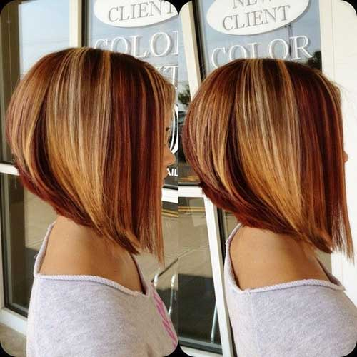 Ginger Honey Colored Blonde Bob Hair