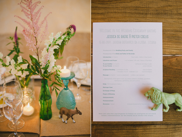 paper goods - photo by Piteira Photography http://ruffledblog.com/whimsical-destination-wedding-in-lisbon