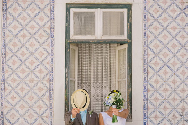 whimsical destination wedding in Lisbon - photo by Piteira Photography http://ruffledblog.com/whimsical-destination-wedding-in-lisbon