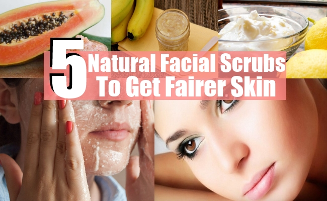 Natural Facial Scrubs