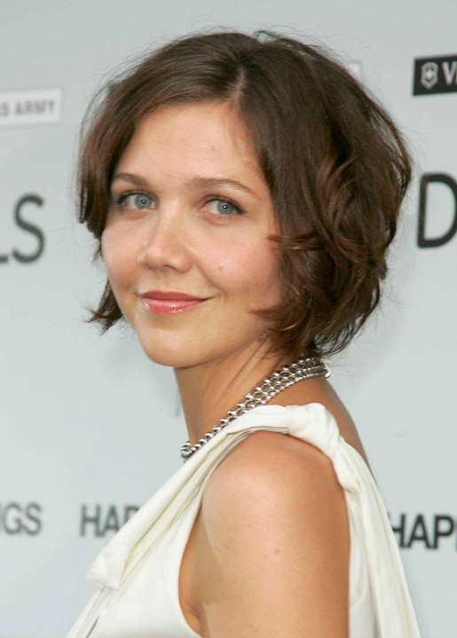 Maggie Gyllenhaal Short Hair Style for 2014 - Hot Mom's Hairstyles