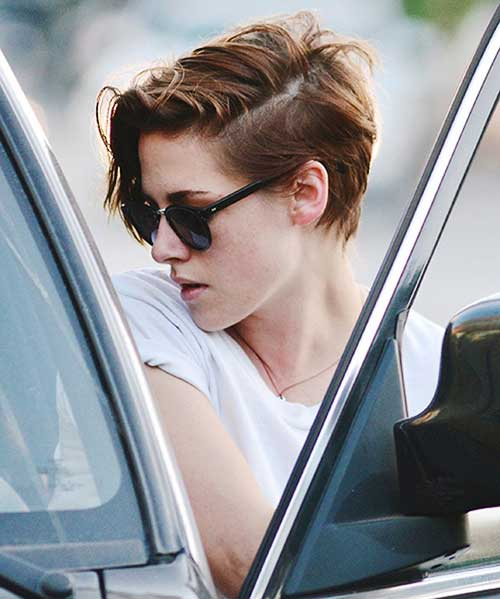 Kristen Stewart Hair Style for Girl