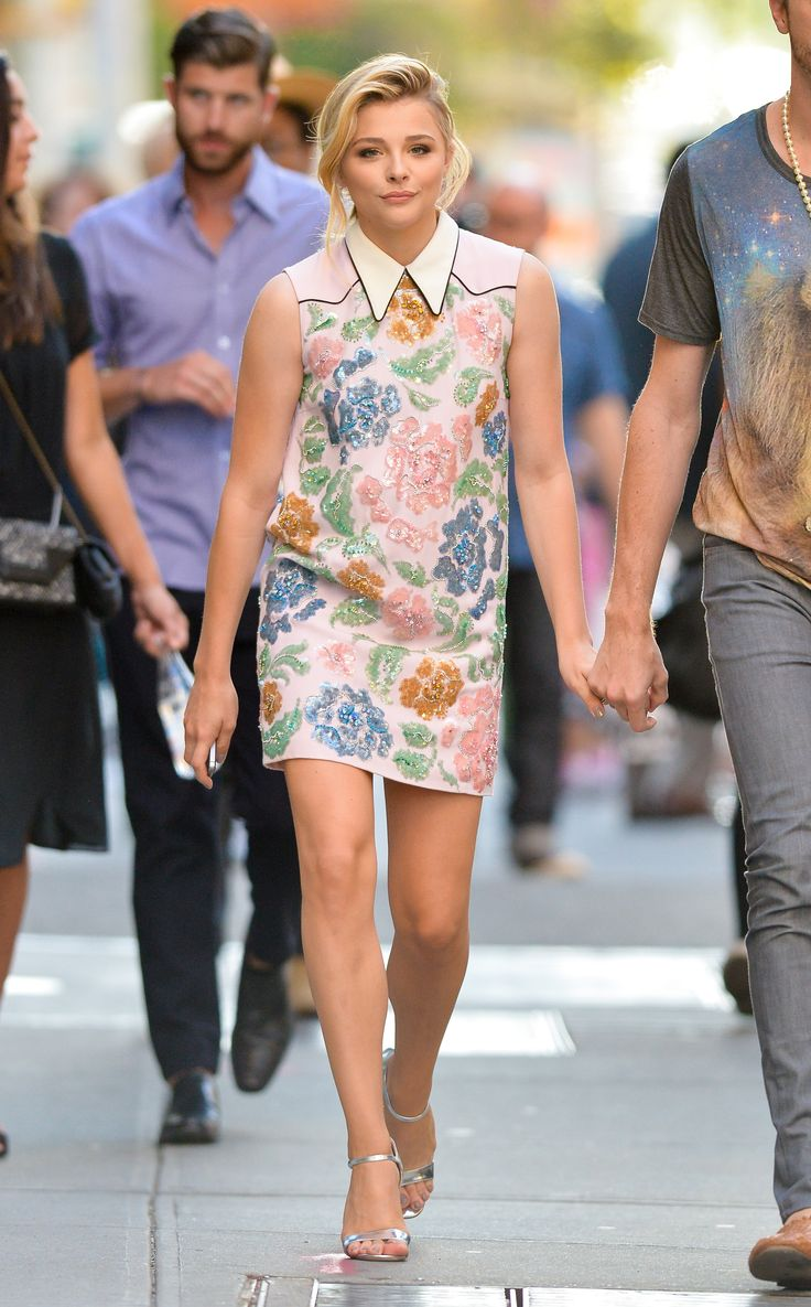 chloe floral dress Teen Fashion Icons Everyone Is Watching