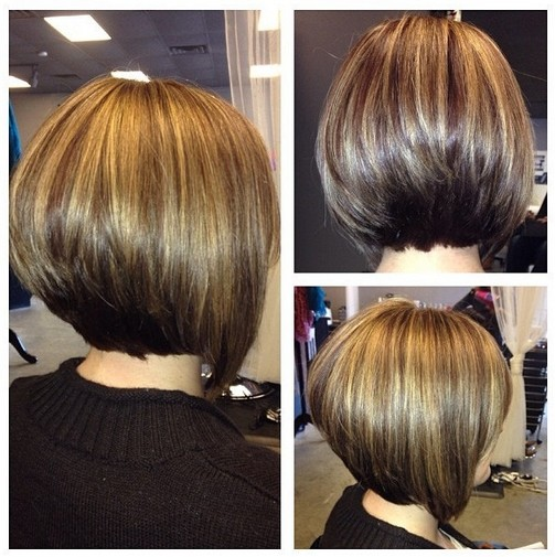 Classic Stacked Bob Haircut