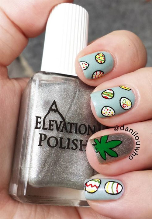 20 Simple Easy Cool Easter Nail Art Designs Ideas Trends Stickers 2015 8 20 Simple, Easy & Cool Easter Nail Art Designs, Ideas, Trends & Stickers 2015