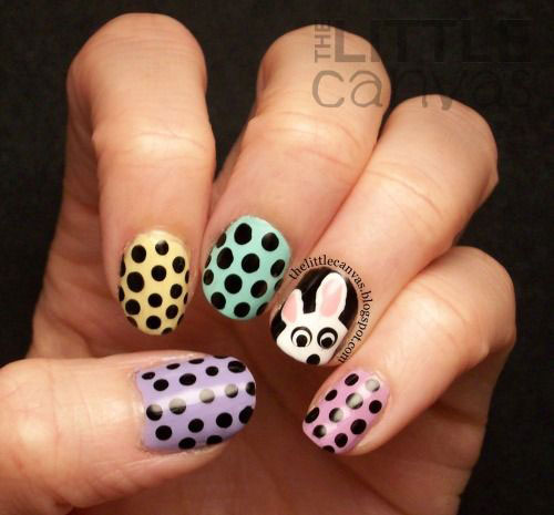 20 Simple Easy Cool Easter Nail Art Designs Ideas Trends Stickers 2015 9 20 Simple, Easy & Cool Easter Nail Art Designs, Ideas, Trends & Stickers 2015