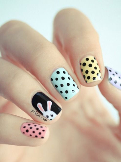 20 Simple Easy Cool Easter Nail Art Designs Ideas Trends Stickers 2015 17 20 Simple, Easy & Cool Easter Nail Art Designs, Ideas, Trends & Stickers 2015