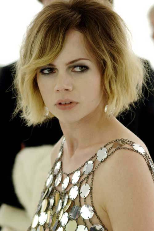 Michelle Williams Ombre Hair Color
