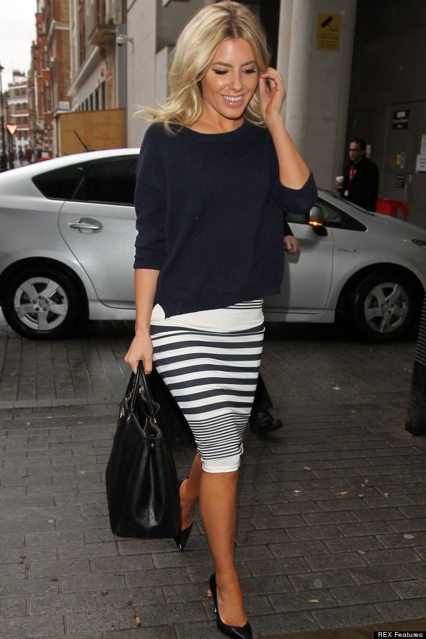 cute striped skirt How to Come Up With Your Own Unique Style