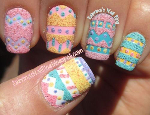 15 Easter Egg Nail Art Designs Ideas Trends Stickers 2015 7 15+ Easter Egg Nail Art Designs, Ideas, Trends & Stickers 2015