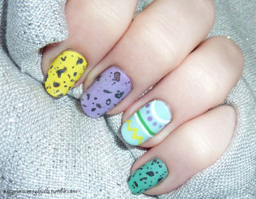 15 Easter Egg Nail Art Designs Ideas Trends Stickers 2015 10 15+ Easter Egg Nail Art Designs, Ideas, Trends & Stickers 2015