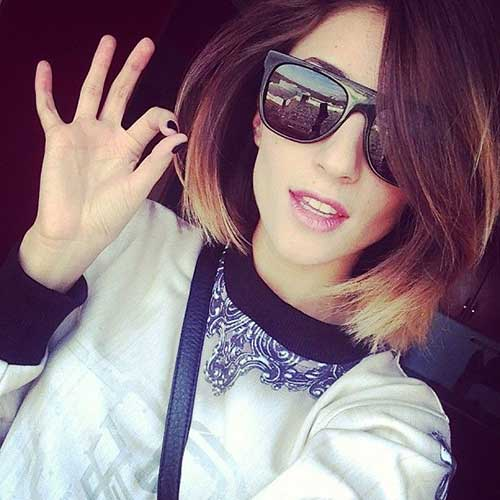 Ombre for Short Hair Trend 2015