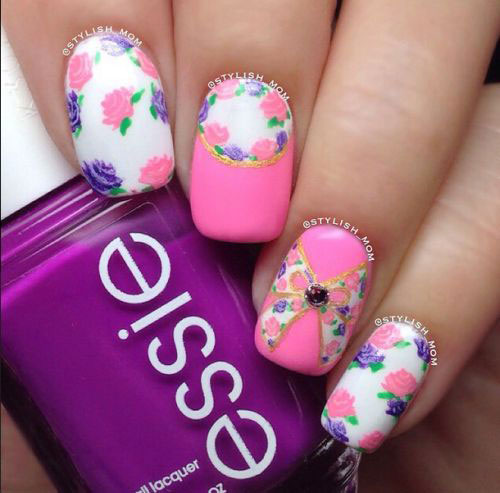 18 Best Spring Nail Art Designs Ideas Trends Stickers 2015 12 18 Best Spring Nail Art Designs, Ideas, Trends & Stickers 2015