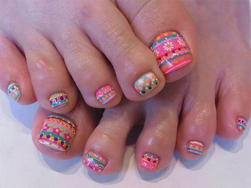 Easter Toe Nail Art Designs Ideas Trends Stickers 2015 4 Easter Toe Nail Art Designs, Ideas, Trends & Stickers 2015