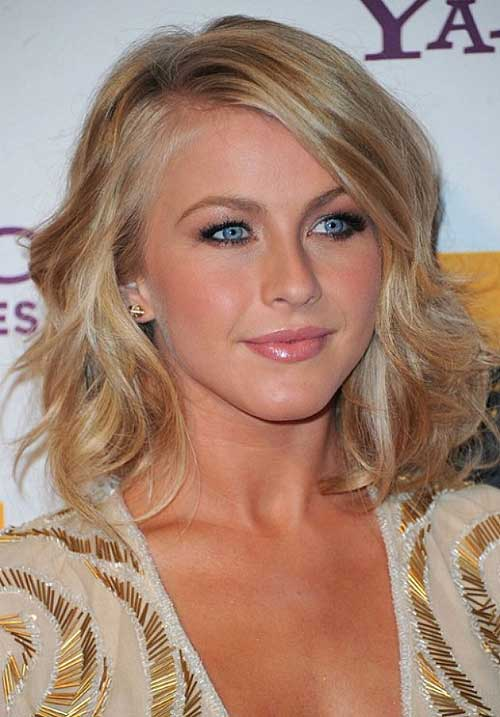 Julianne Hough Short Medium Hairstyles 2015