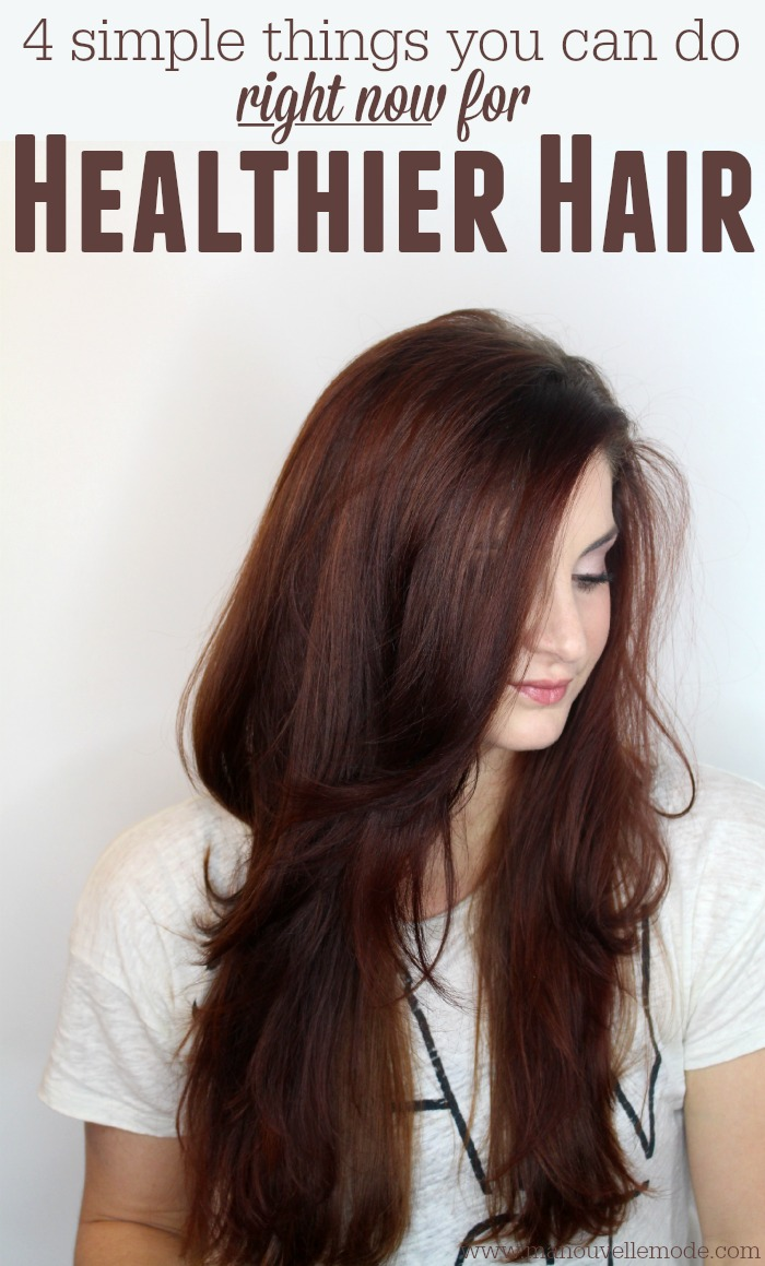 things you can do for healthier hair
