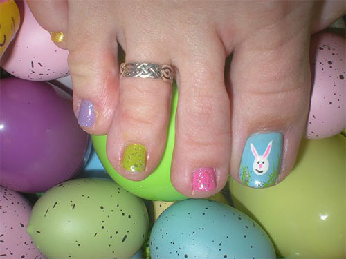 Easter Toe Nail Art Designs Ideas Trends Stickers 2015 7 Easter Toe Nail Art Designs, Ideas, Trends & Stickers 2015