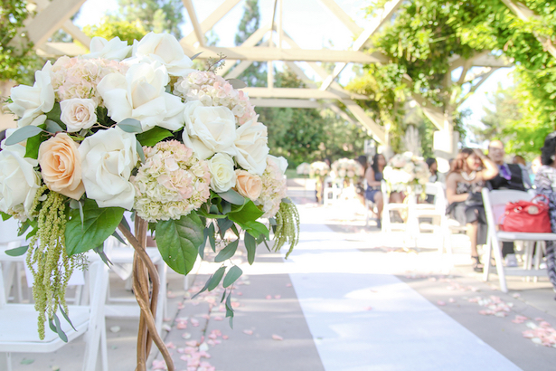 Wedding Ceremony Flowers ~ Your Lovely Wedding Photography