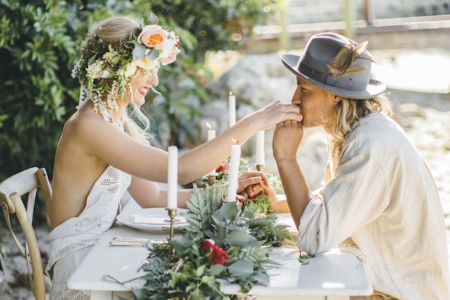 Bohemian wedding inspiration shoot ⎪ Tina Shawal Photography ⎪ see more on: http://burnettsboards.com/2015/04/island-inspired-bohemian-wedding/