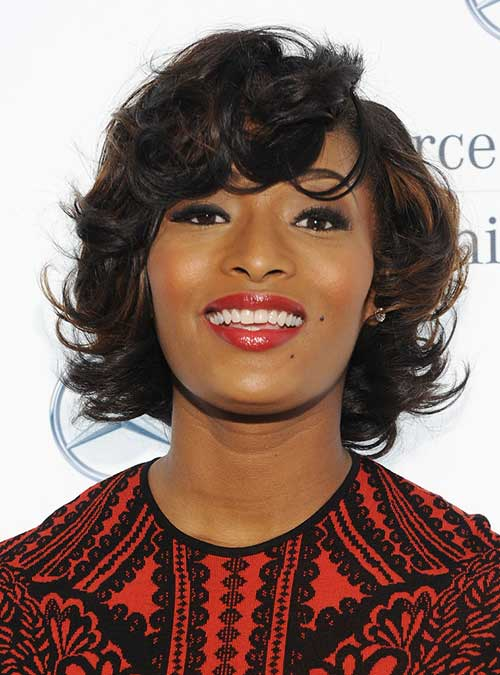 Toccara Jones Curly Short Hairstyles