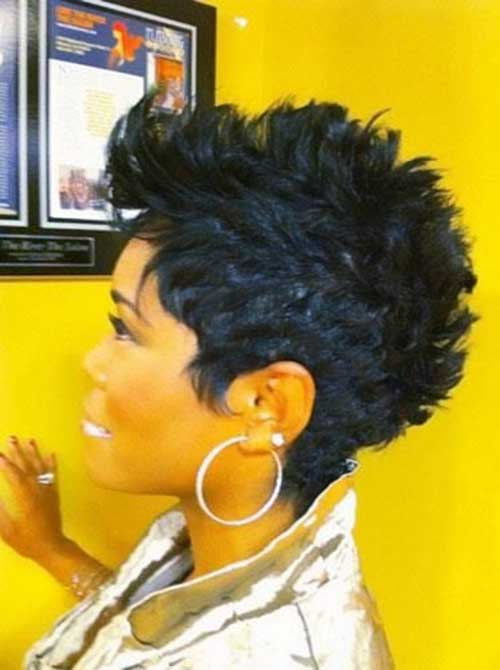 Gorgeous Mohawk Look Finger Wave