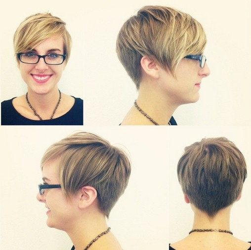 Cute Short Hairstyle for Girls