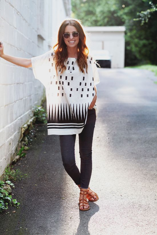 loose tunic leggings