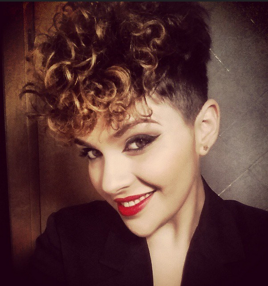 Cool Short Hairstyle for Curly Hair