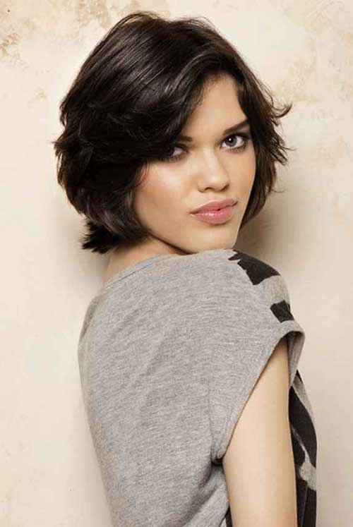 Messy Layered Short Hairstyles 2014