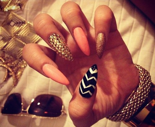 pointy-nail-designs