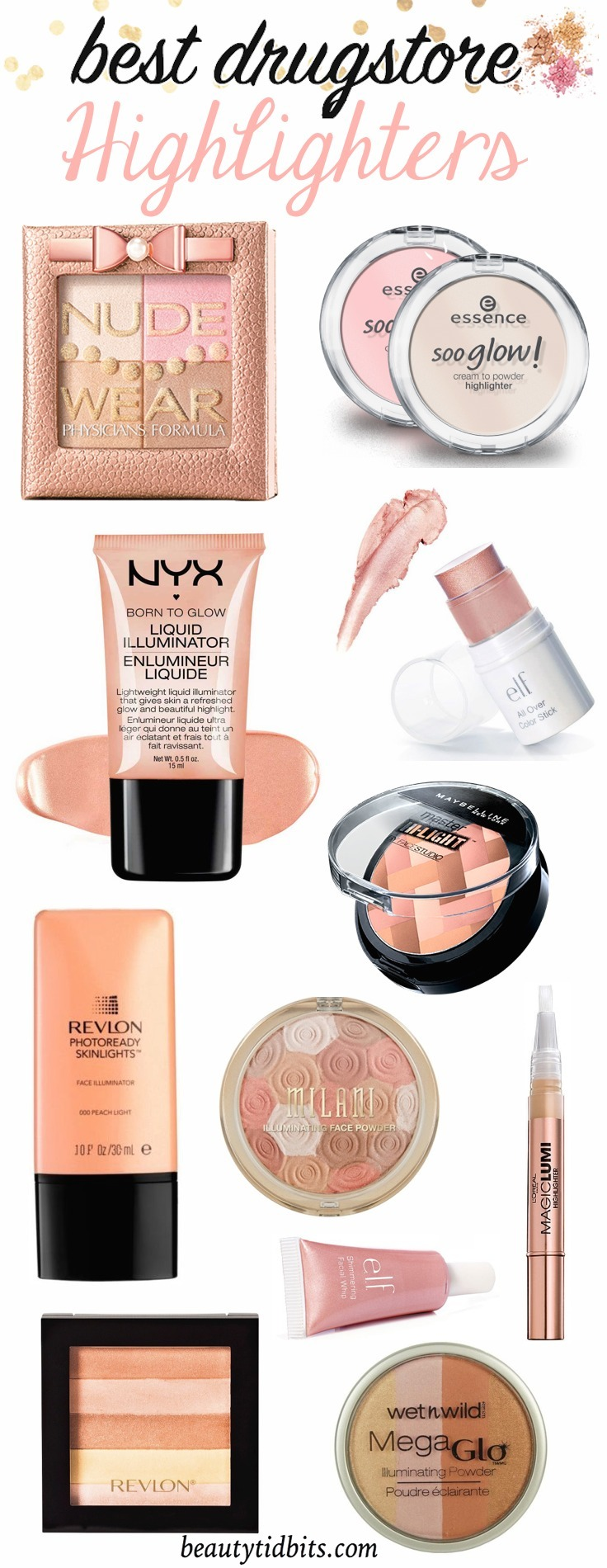 Best drugstore highlighters and Illuminators