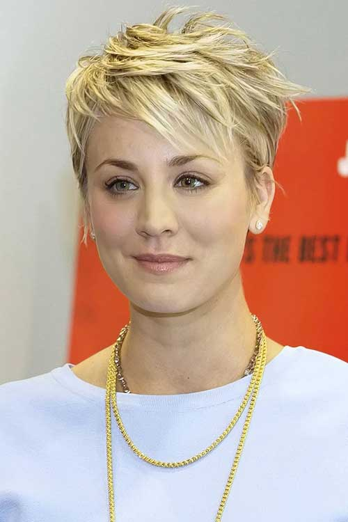 Kaley Cuoco Trendy Haircuts